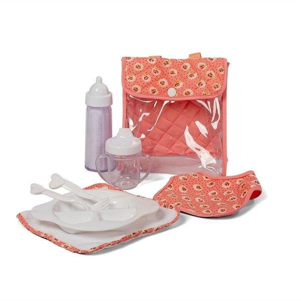 Minimommy Voedingsset voor de pop Dusty roze