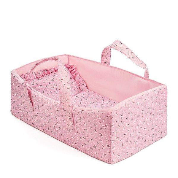 Minimommy Poppenreiswieg Roze 44 cm
