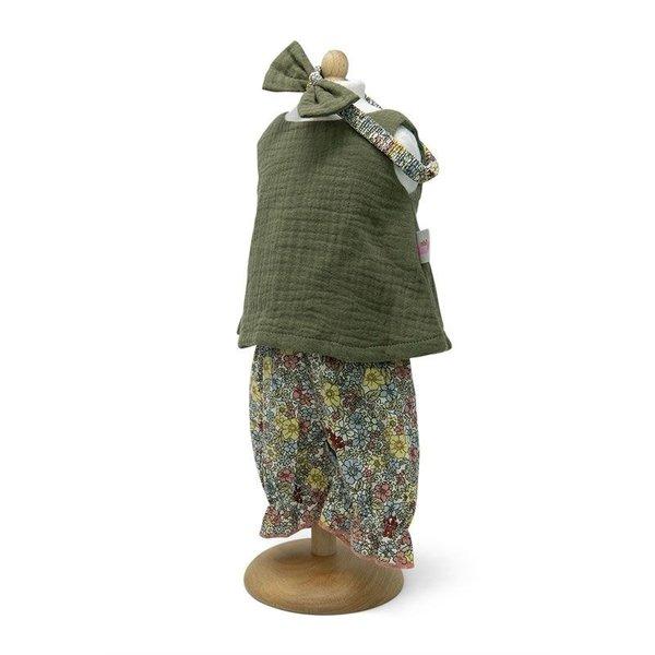 Minimommy Tuniek Set mosgroen 42-46cm