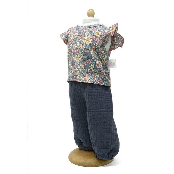 Minimommy Broek met gebloemde blouse 33-37cm