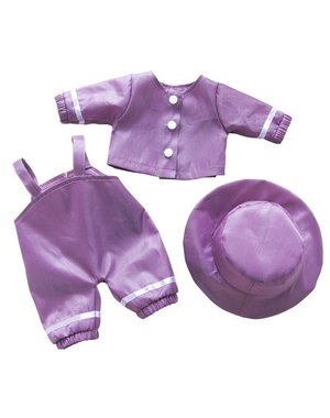 Minimommy Regenkleding paars 33-37cm
