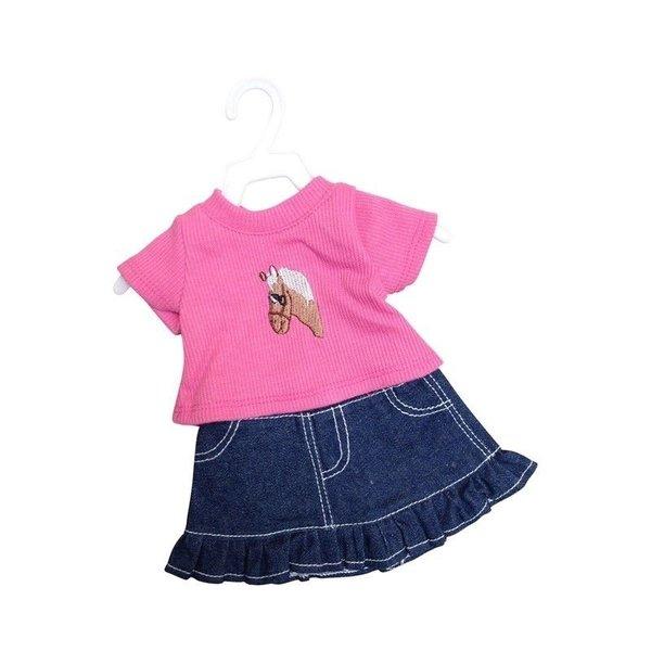 Minimommy Denim rok met t-shirt 29-32 cm
