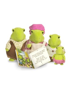 Li'l Woodzeez Schildpad Familie Tidyshine