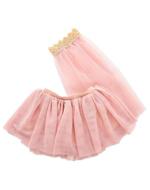 ByASTRUP Tule rok met sluier roze 3-5 jaar