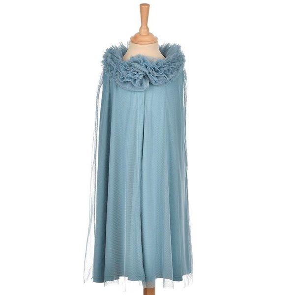 ByASTRUP Tule cape blauw 3-5 jaar