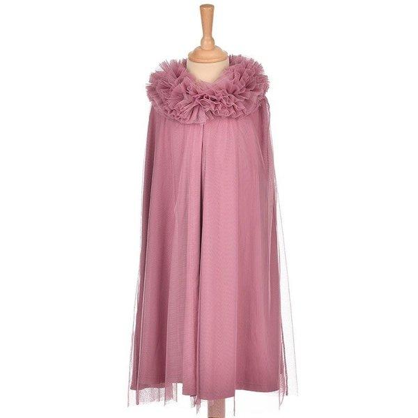 ByASTRUP Tule cape paars/roze 6-8 jaar