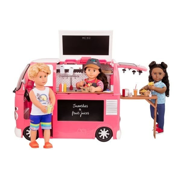 Our Generation Grill to go Foodtruck-Pink
