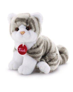 Trudi Kitten Brad wit/grijs 20 cm