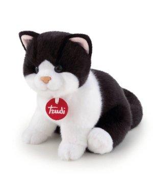 Trudi Kitten Brad zwart/wit 22cm