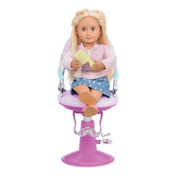 Our Generation Sitting Pretty Salon Chair – Lila