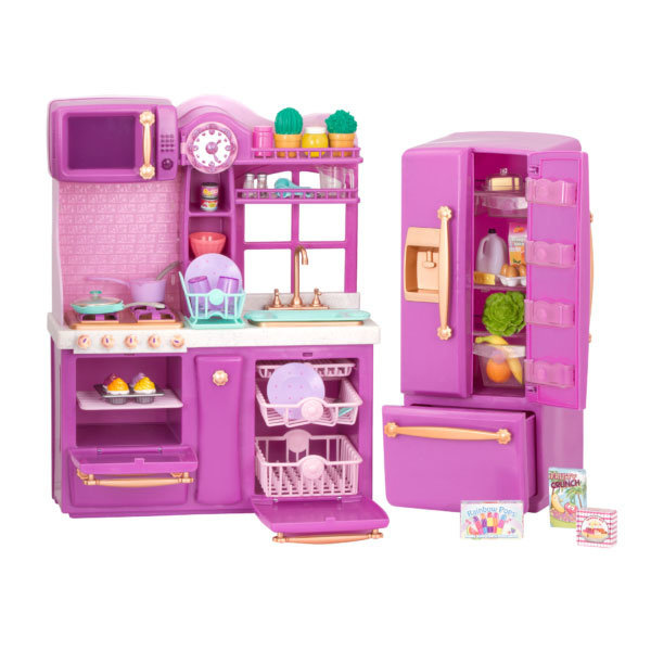 Our Generation Gourmet Kitchen Set – Paars