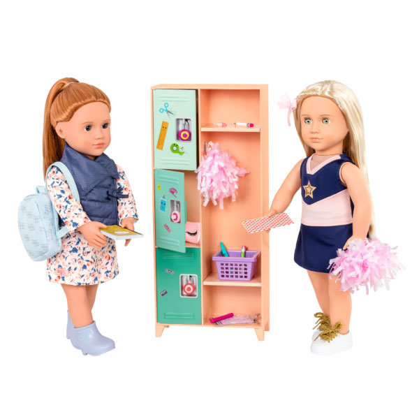 Our Generation Classroom Cool Locker Set