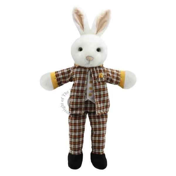 The Puppet Company Geklede handpop meneer Konijn
