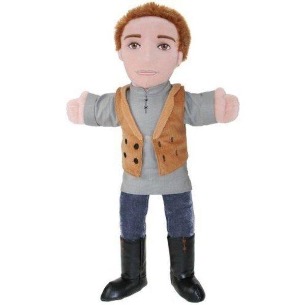 The Puppet Company Handpop Jongen 40 cm