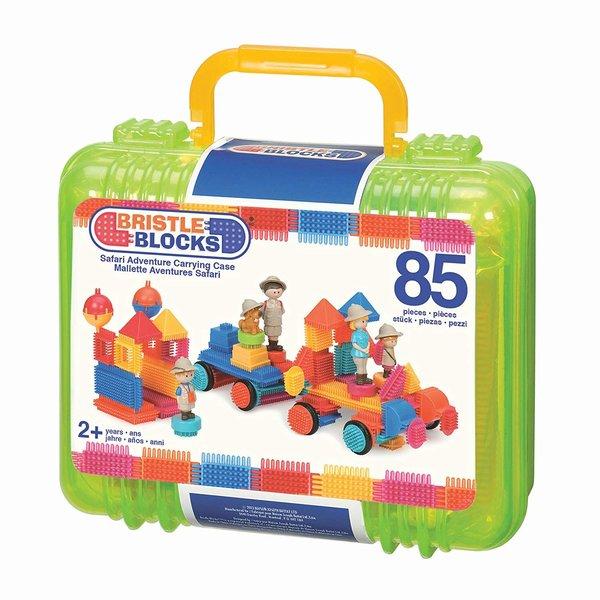 Bristle Blocks Bristle Blocks Safari grote koffer 85 dlg