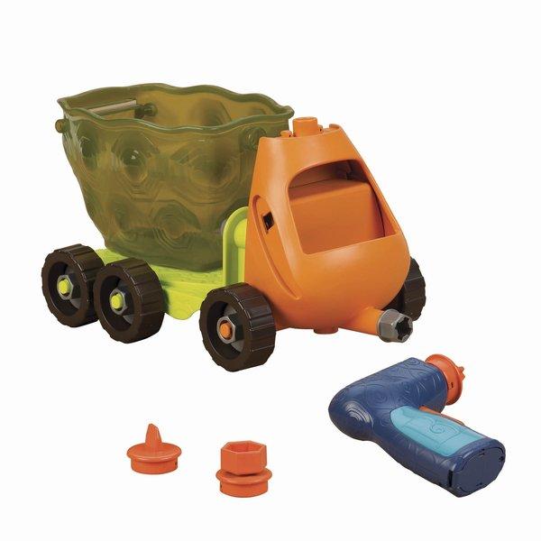 B Toys Bouw een Afval Truck