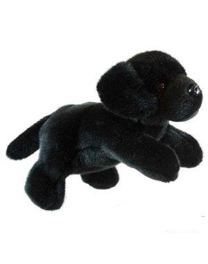 The Puppet Company Handpop zwarte Labrador 23cm