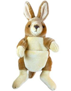 The Puppet Company Handpop Kangoeroe 30cm