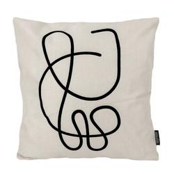 Abstract Lines #1 | 45 x 45 cm | Kussenhoes | Linnen/Katoen