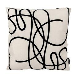 Abstract Lines #3 | 45 x 45 cm | Kussenhoes | Linnen/Katoen