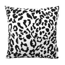 Black Leopard | 45 x 45 cm | Kussenhoes | Katoen/Polyester