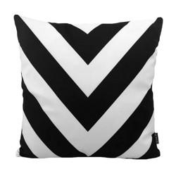 Novin Black | 45 x 45 cm | Kussenhoes | Katoen/Polyester