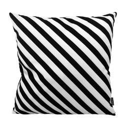 Flint Black   45 x 45 cm   Kussenhoes   Katoen/Polyester
