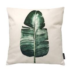 Urban Jungle Leaf | 45 x 45 cm | Kussenhoes | Linnen/Katoen