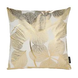 Gold Flowers | 45 x 45 cm | Kussenhoes | Katoen/Polyester