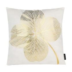 Gold Leaf Flower | 45 x 45 cm | Kussenhoes | Katoen/Polyester