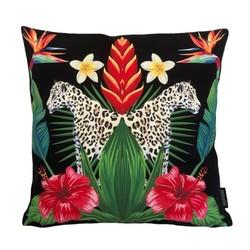Leopard Hibiscus | 45 x 45 cm | Kussenhoes | Katoen