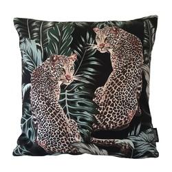 Leopard Twins | 45 x 45 cm | Kussenhoes | Katoen/Polyester