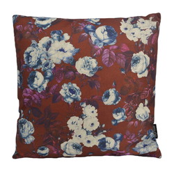 Retro Flowers | 45 x 45 cm | Kussenhoes | Linnen/Katoen