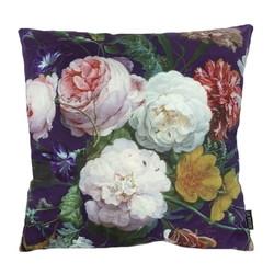 Soft Colorful Flowers | 45 x 45 cm | Kussenhoes | Katoen