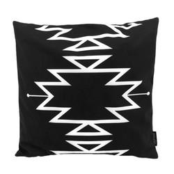 Boho Black | 45 x 45 cm | Kussenhoes | Katoen/Polyester