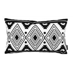 Boho Black Long   30 x 50 cm   Kussenhoes   Katoen/Polyester