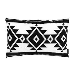 Boho White Long | 30 x 50 cm | Kussenhoes | Katoen/Polyester
