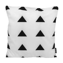 Senza Black / White #3 | 45 x 45 cm | Kussenhoes | Katoen