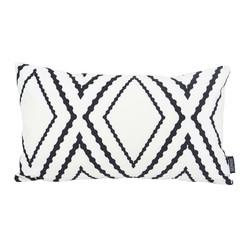 Yana White Long | 30 x 50 cm | Kussenhoes | Katoen/Polyester