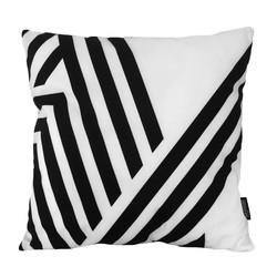 Black & White Retro | 45 x 45 cm | Kussenhoes | Katoen