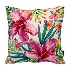 Exotic Flowers | 45 x 45 cm | Kussenhoes | Linnen/Katoen