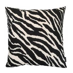 Black Zebra   45 x 45 cm   Kussenhoes   Linnen/Katoen