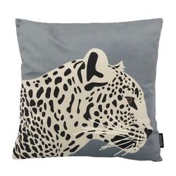 Velvet Leopard #3 | 45 x 45 cm | Kussenhoes | Polyester