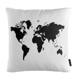 Black World | 45 x 45 cm | Kussenhoes | Katoen/Polyester