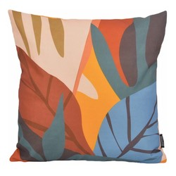 Color Leaves - Outdoor | 45 x 45 cm | Kussenhoes | Katoen