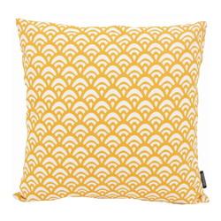 Waves Yellow | 45 x 45 cm | Kussenhoes | Katoen/Polyester