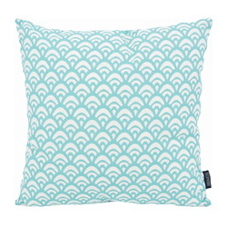 Waves Blue | 45 x 45 cm | Kussenhoes | Katoen/Polyester