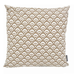 Waves Taupe | 45 x 45 cm | Kussenhoes | Katoen/Polyester