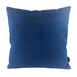 Blue Button Velvet | 45 x 45 cm | Kussenhoes | Polyester