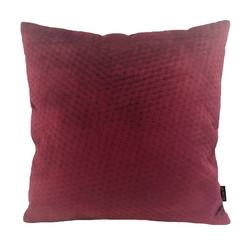 Red Button Velvet   45 x 45 cm   Kussenhoes   Polyester